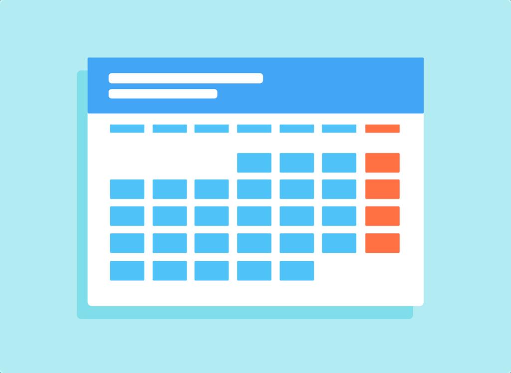 チェックをカレンダーに入れていくのも立派なセルフモニタリング