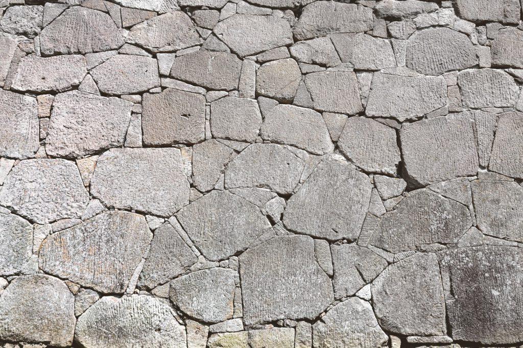 お城の石垣