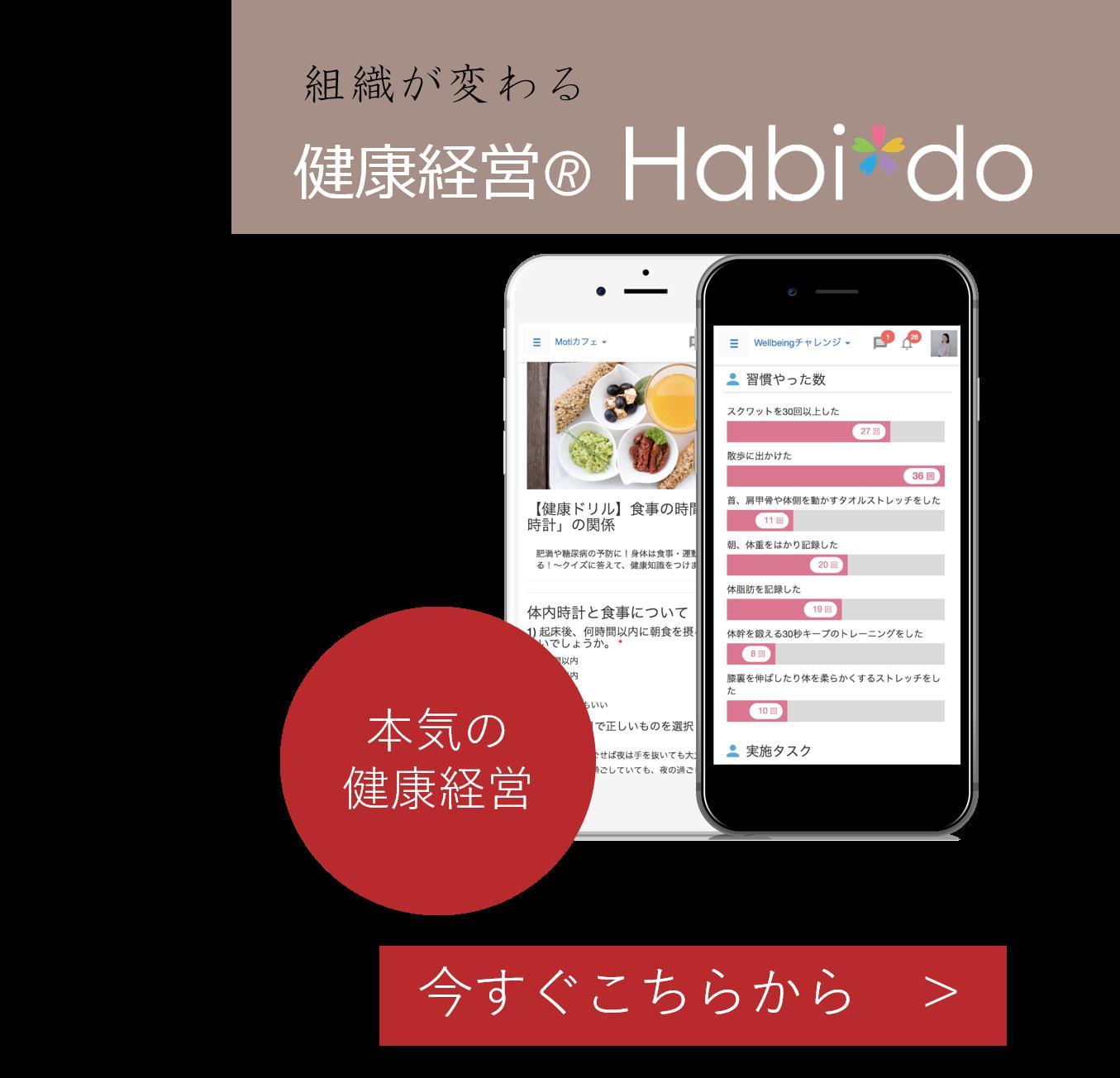 健康経営Habi*do