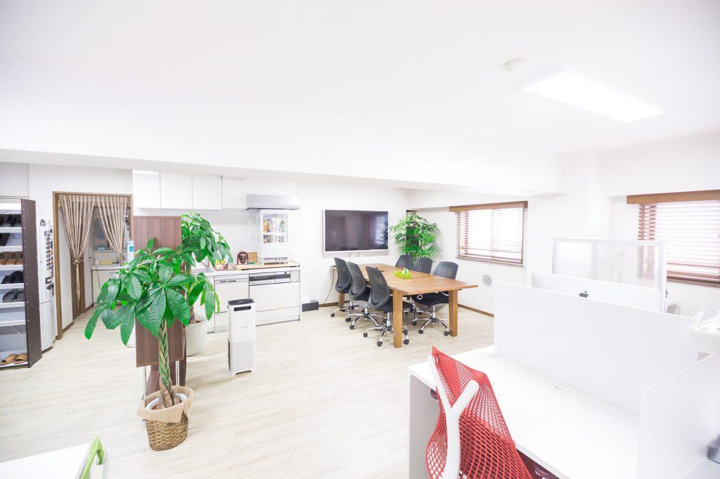 清潔なオフィス環境