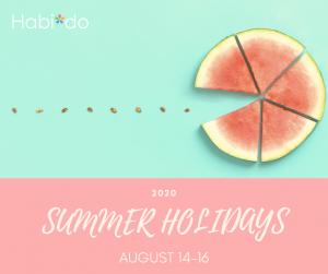 夏季休業2020