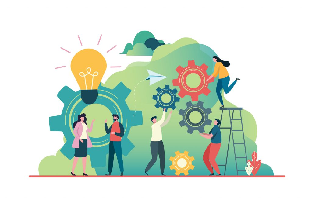 協働してイノベーションを生む組織