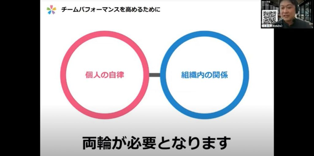 Be&Do橋本のプレゼンの様子
